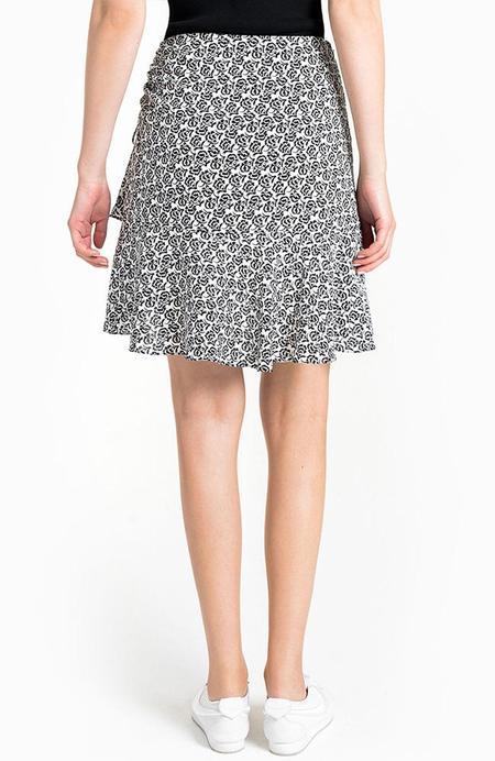 A.L.C. Farrow Skirt - EGGSHELL