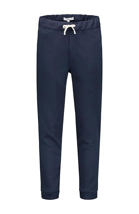 THE GOODPEOPLE Fute Twill Jogging Pant - MID BLUE
