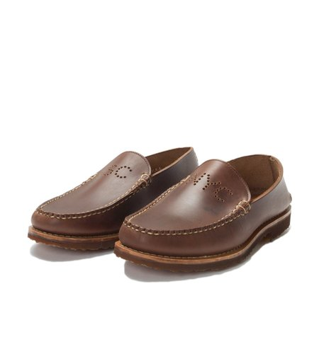 FSC x RANCOURT CHROMEXCEL COLLARLESS VENETIAN - BROWN