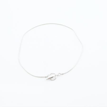 Another Feather Ore Choker - Silver