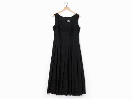 Comme des Garçons Eyelet Dress - Black