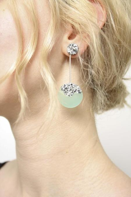 Woll Bauble Earrings - Green