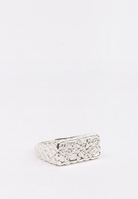27 Mollys XX Flower Ring - silver
