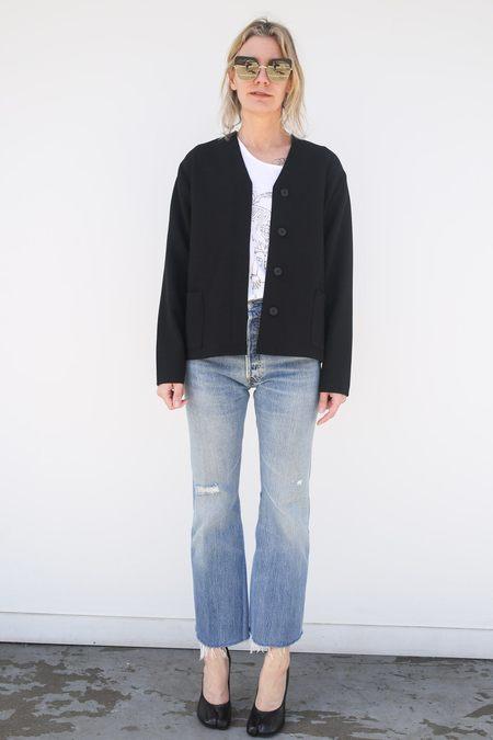 Sara Lanzi Boxy Jacket - Black