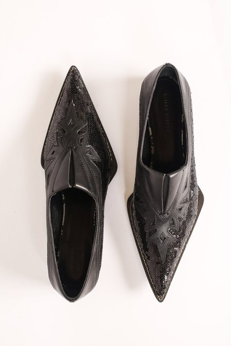 Haider Ackermann Laser-Cut Loafer - Brell Black/Equinox
