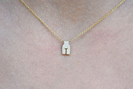 Ideal Woman Micro Pave Necklace - Gold