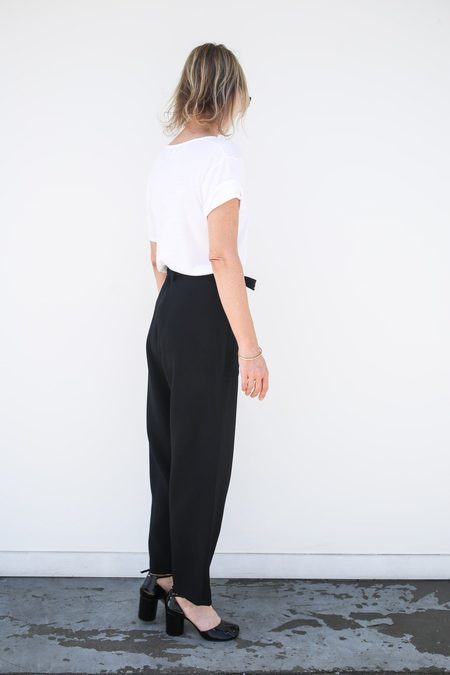 Sara Lanzi Wide Pants - Black