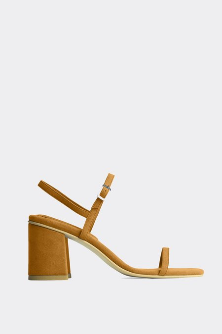 Rafa Vegan Suede Simple Sandal - Epice