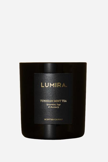 Lumira destination candle in Tunisian mint tea
