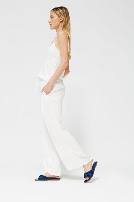 Lacausa JERSEY CAMI - WHITE