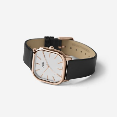 Breda Visser Watch - Rose Gold / Black