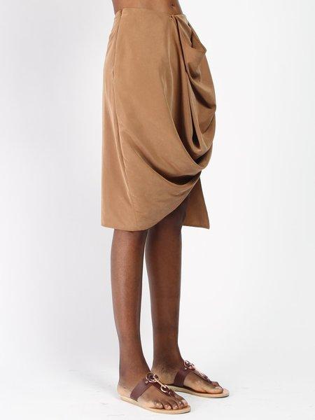 House of 950 Falling Skirt - Caramel