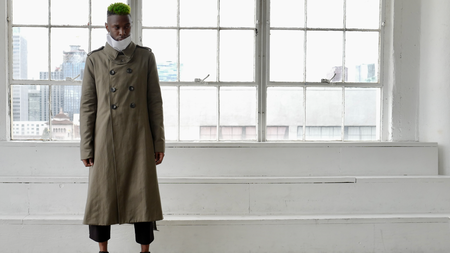Unisex DEFYANT Signature Trench - Military green