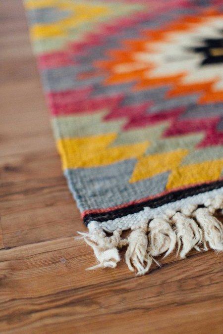 Weft End Vintage Kilim Rug - No. 003