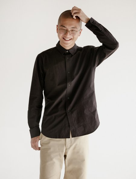 Niuhans Sound Cloth Cotton Shirt - Brown
