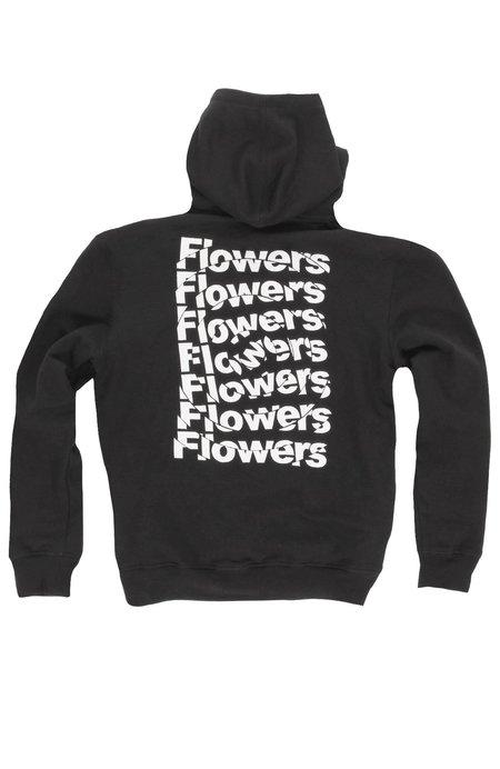FLOWERS Shatter Hoodie - Black