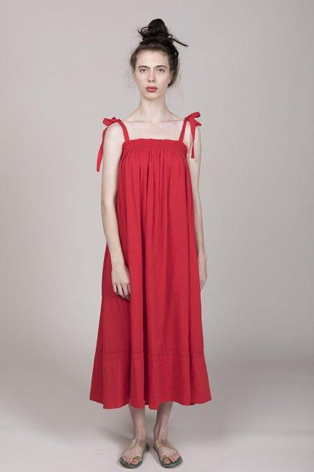 Loup Charmant Bastille Dress - Red