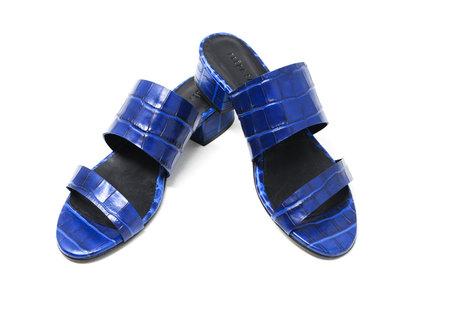 Freda Salvador Mid Heel Sandal - indigo