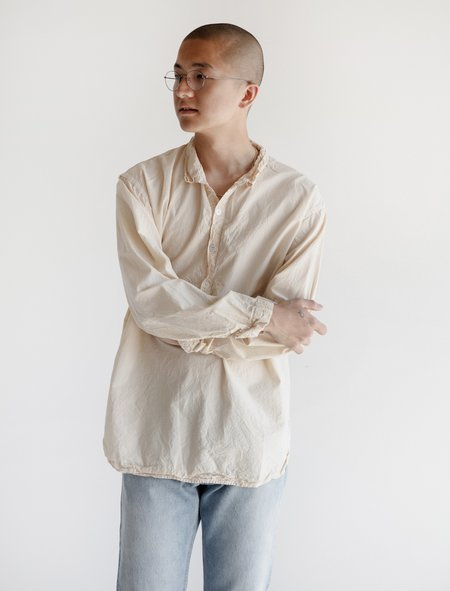 Tender Long Sleeve Pullover Shirt - Rinse Wash