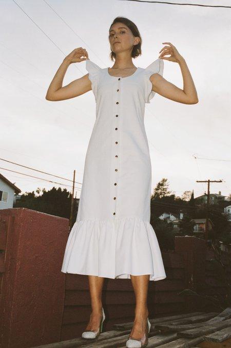 No.6 Aiden Dress - White