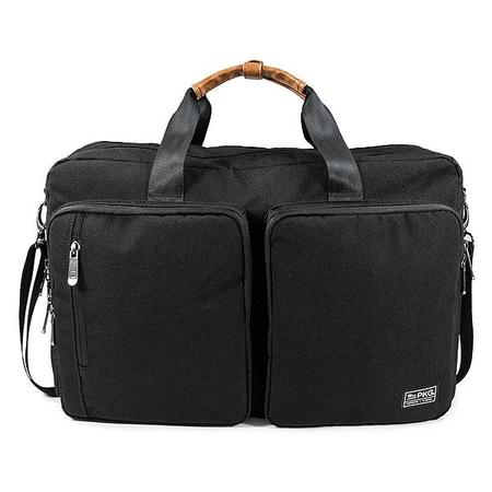 PKG The Trenton Briefcase/Weekender bag - Black