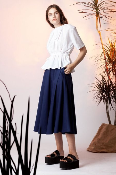 Toit Volant Elissa Skirt - Navy