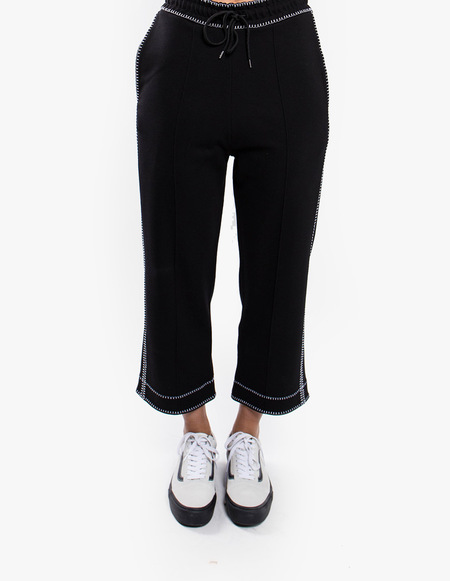 McQ Alexander McQueen Contrast Sweatpants - Black