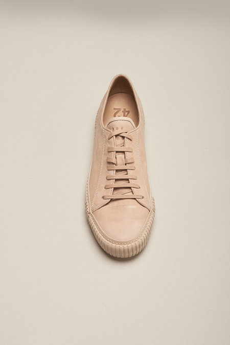 BOTH PARIS Horse Leather Sneakers - Nude