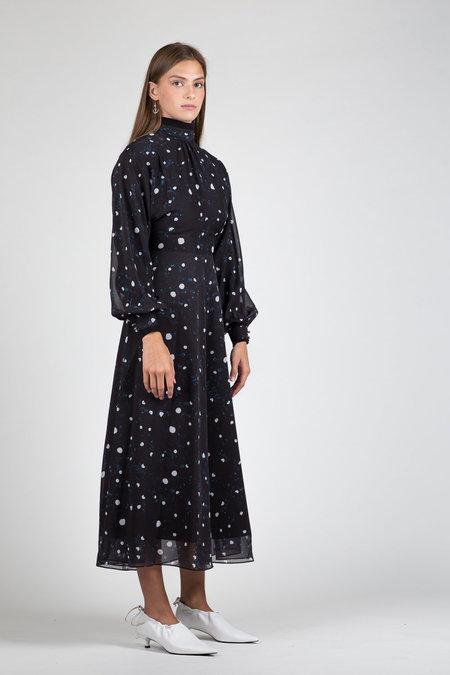 Hyein Seo Polka Dot Dress - Black