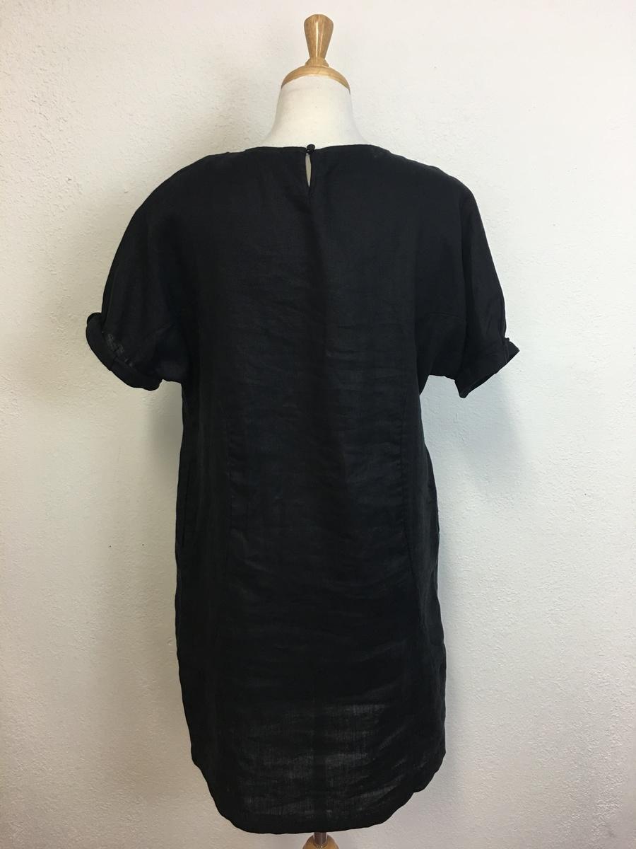 14261209c3 Elk Linen Shift Dress