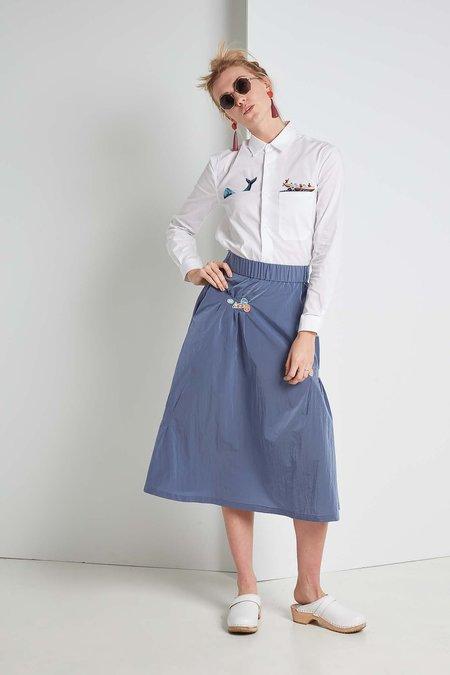 Ffixxed Studios Sticker Skirt - Periwinkle Blue