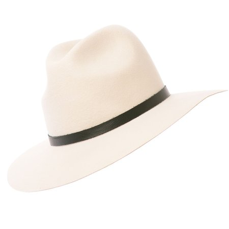 Lovely Bird Brooklyn Fedora Hat - Navajo White