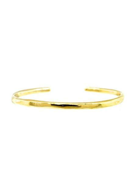 Lulu Designs Organic Cuff - Yellow Bronze