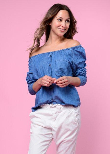 NSF Babette Shirt - True Blue