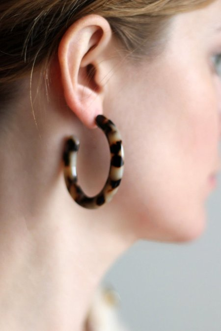 Machete Frances Hoops - Tortoise
