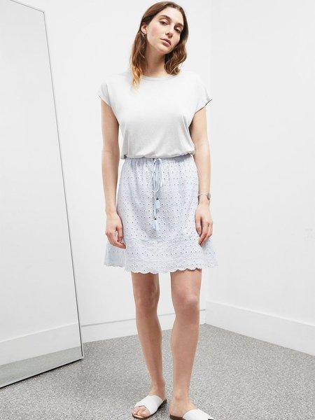 Great Plains Broderie Skirt - Fresh Blue Hue