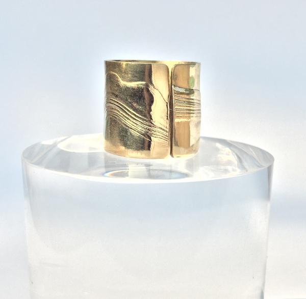 Leigh Miller Brass Aurora Ring