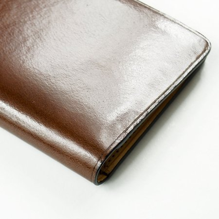 Il Bussetto Bi-folder Card Case - Brown