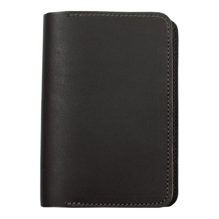 Unisex Laperruque Passport Cover - Ebony Baranil