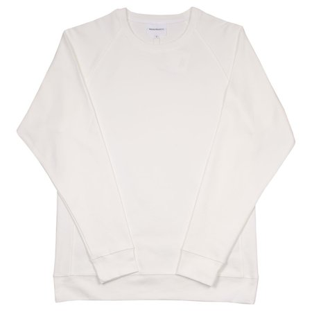 Norse Projects Vorm Summer Interlock Sweatshirt - White