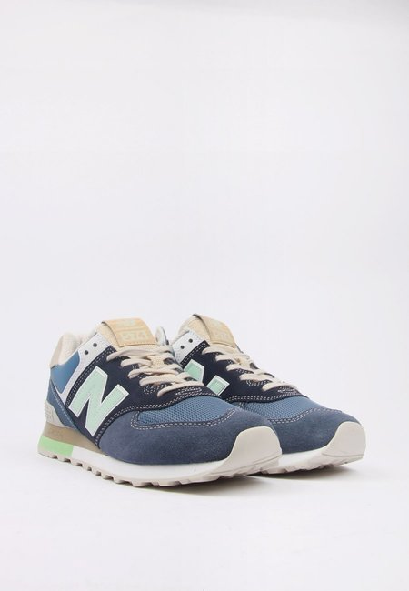 New Balance 574 Vintage Surf Sneakers - Navy