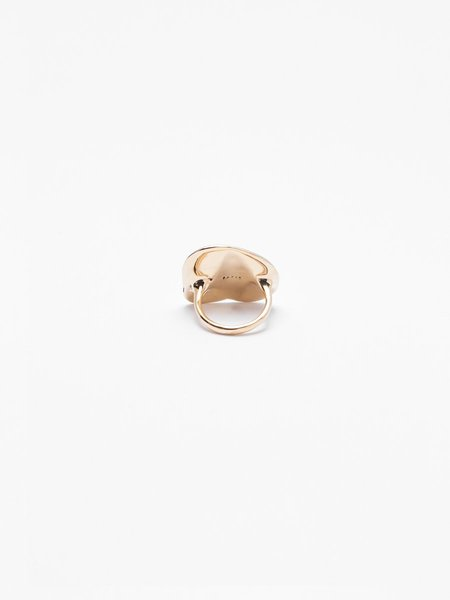 FARIS MID Dip Ring - Bronze