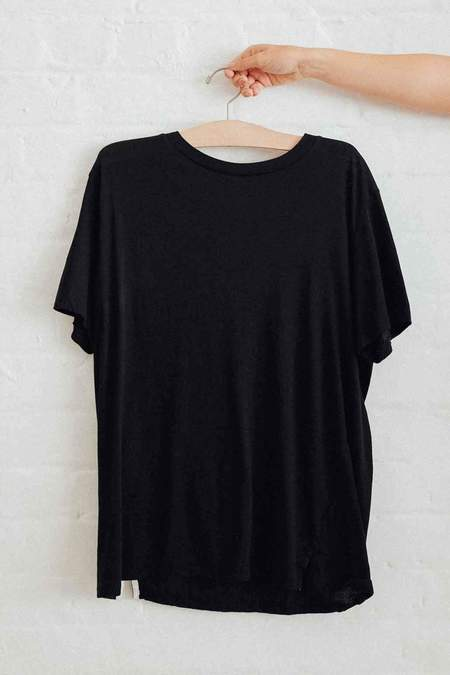 Bassike Classic Vintage T-Shirt - Black