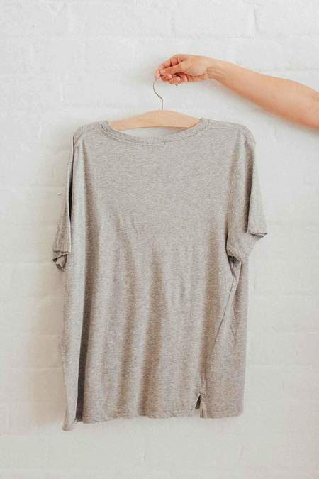 Bassike Classic Vintage T.Shirt - Grey Marl