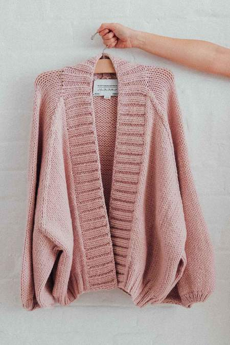 I love Mr Mittens Kamille Knit Cardigan - Pink