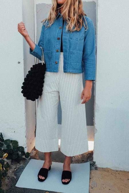 Caron Callahan Krasner Jacket - Faded Indigo