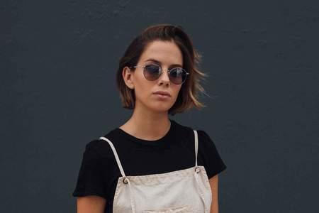 Garrett Leight Wilson M Sunglasses - Moonrock
