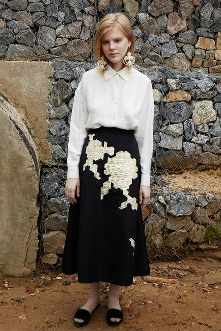 Alena Akhmadullina Printed Skirt