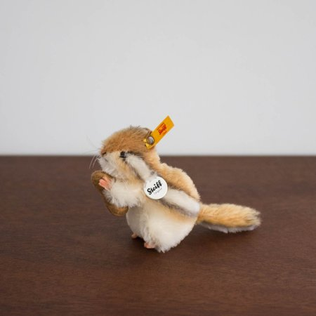 Kids Steiff Germany Kecki Chipmunk Collectible Plush Toy
