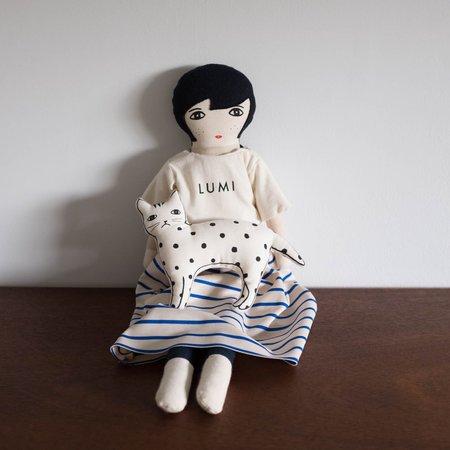 Kids Le Train Fantome Lumi Doll - Stripes Dress